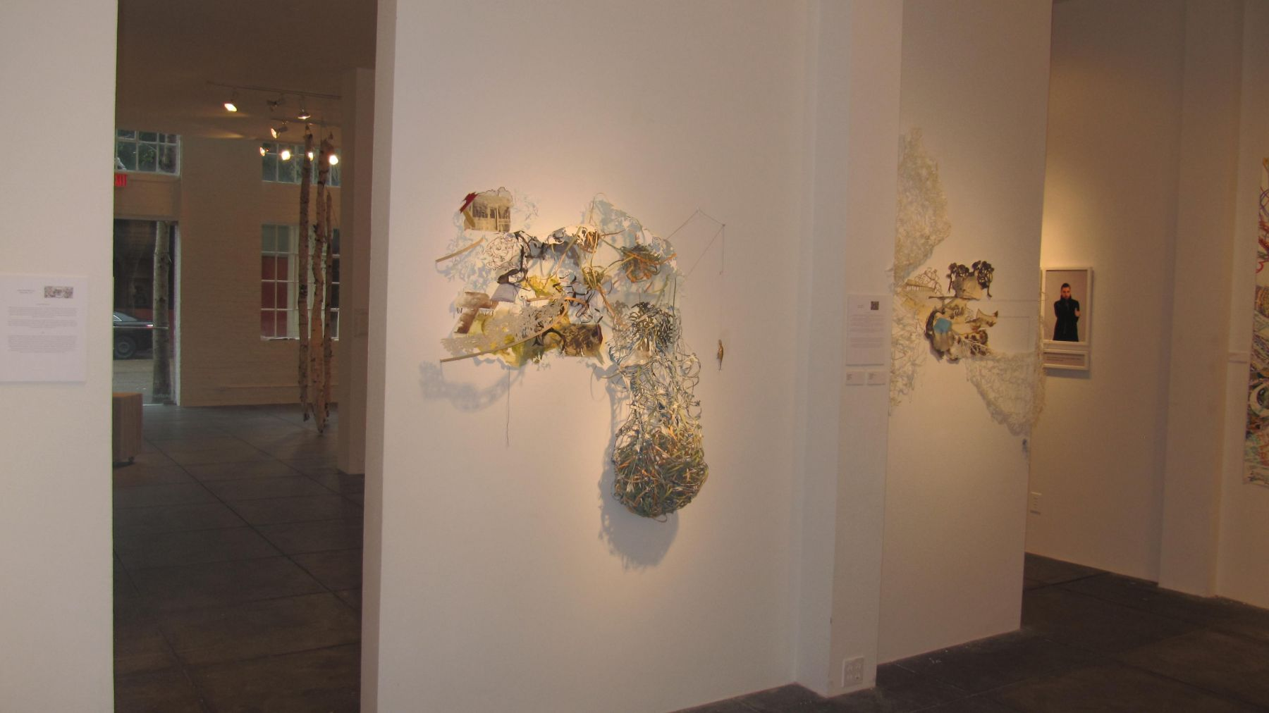 NO DEAD ARTISTS III 15th Annual National Juried Exhibition of Contemporary Art, [Middle Gallery Installation View]