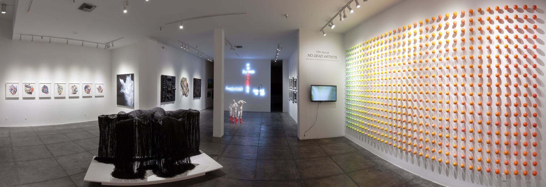 20th Annual NO DEAD ARTISTS International Juried Exhibition of Contemporary Art