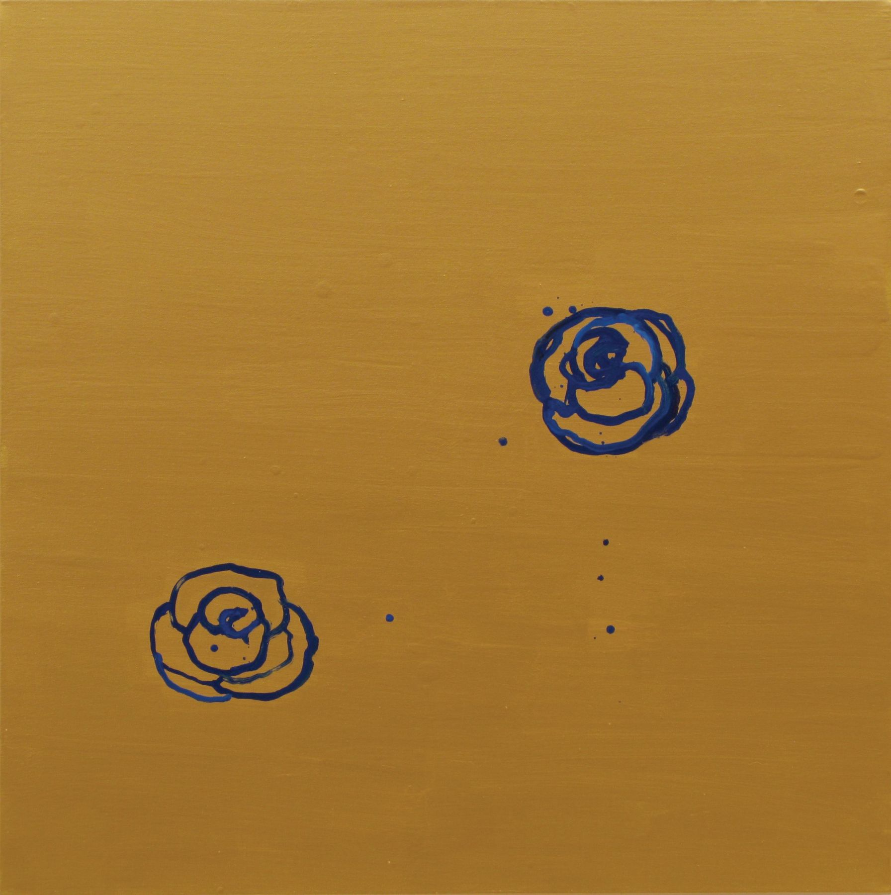 MARGARET EVANGELINE, Honey, Blue, Blue 2, 2010