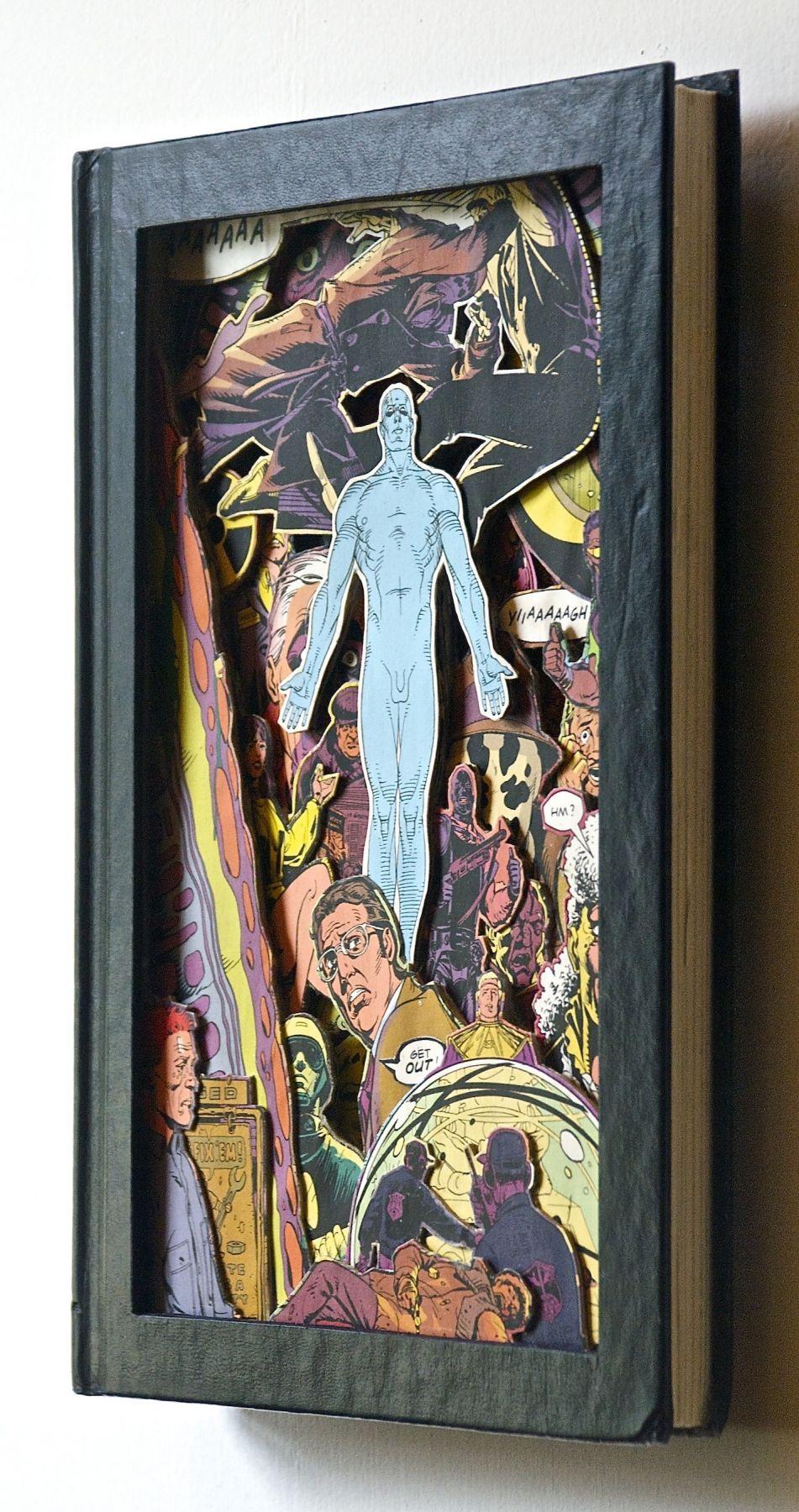 TONY DAGRADI, Ascension - Watchmen (side view),2018