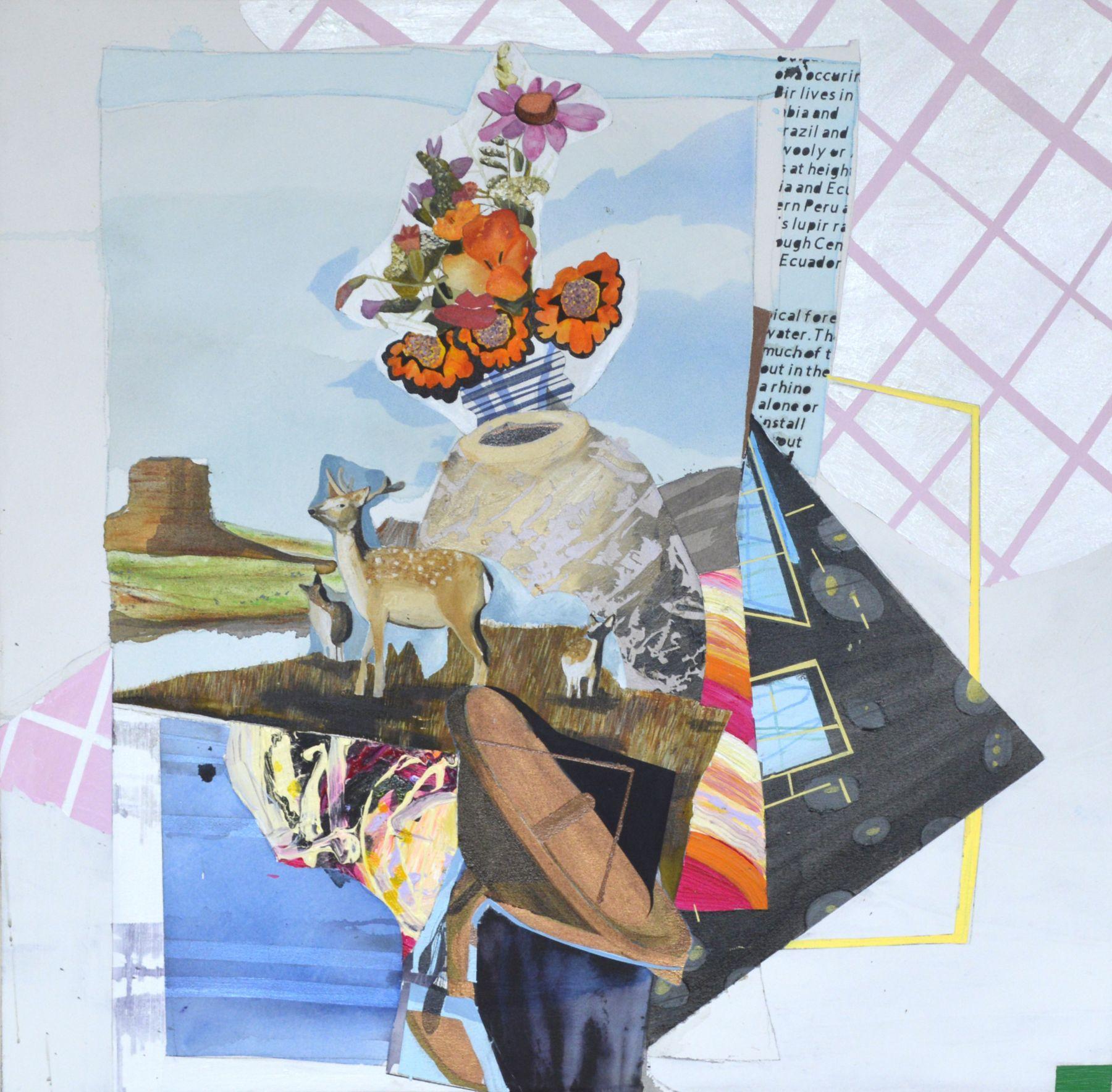 JENNY DAY, Miscalibration: relentless cervine optimism, 2019