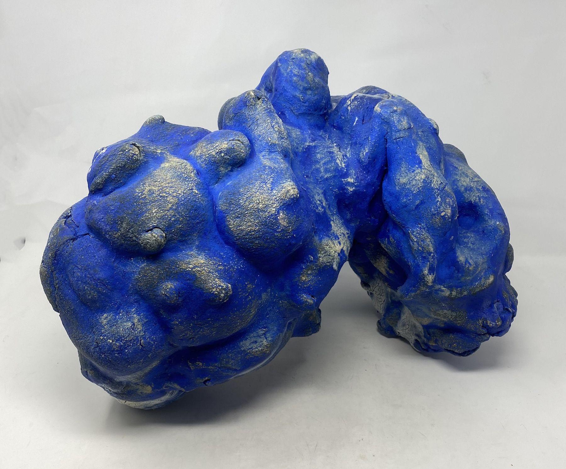 JENNY DAY, Untitled Blue 1, 2019