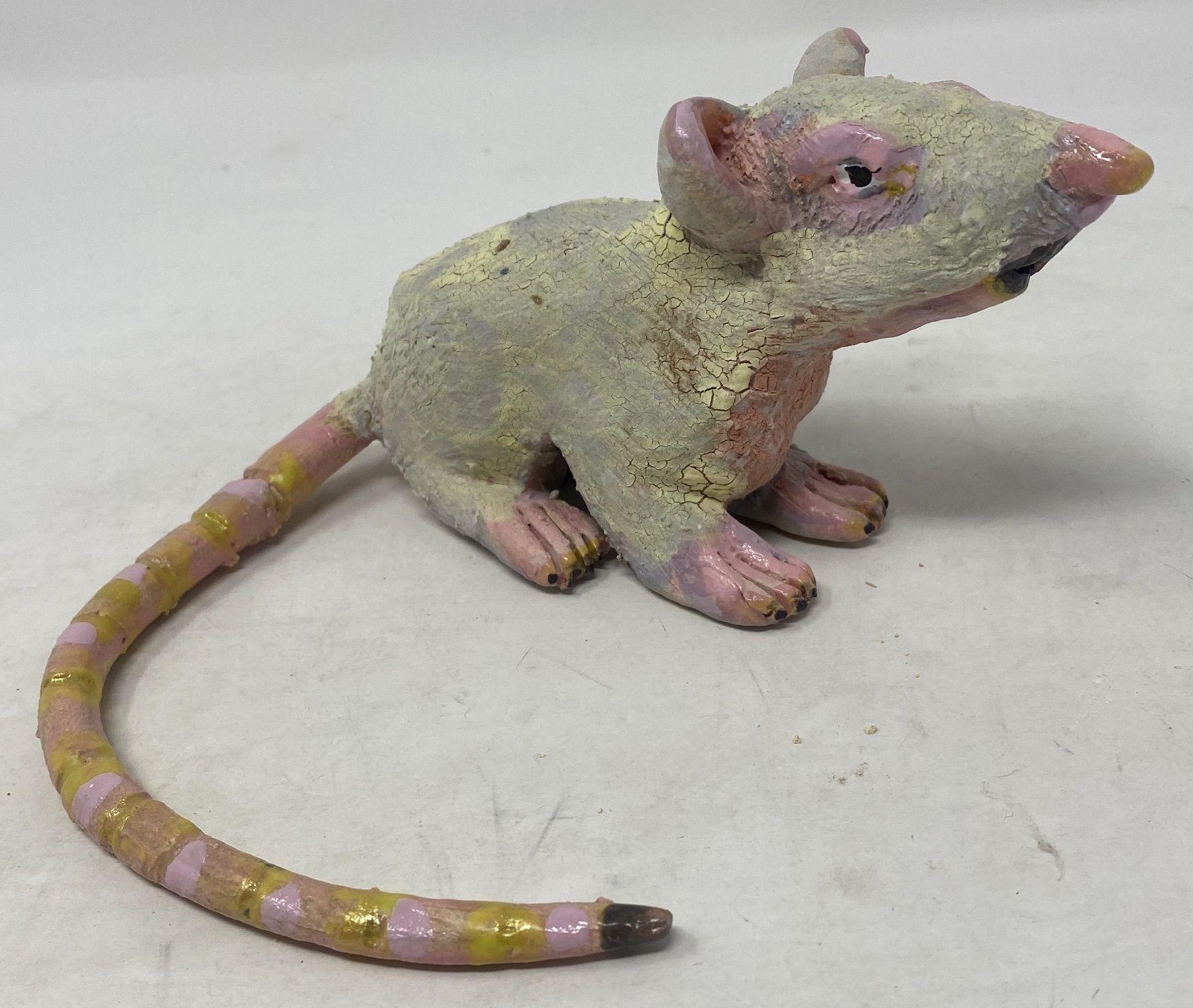 JENNY DAY, Sickly Yellow Rat, 2021