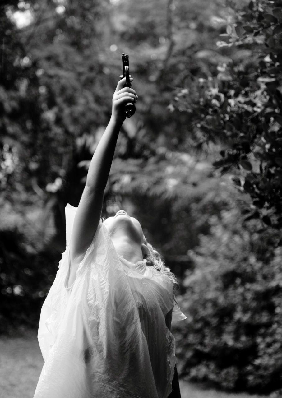 MARCUS KENNEY Girl with Gun, 2015