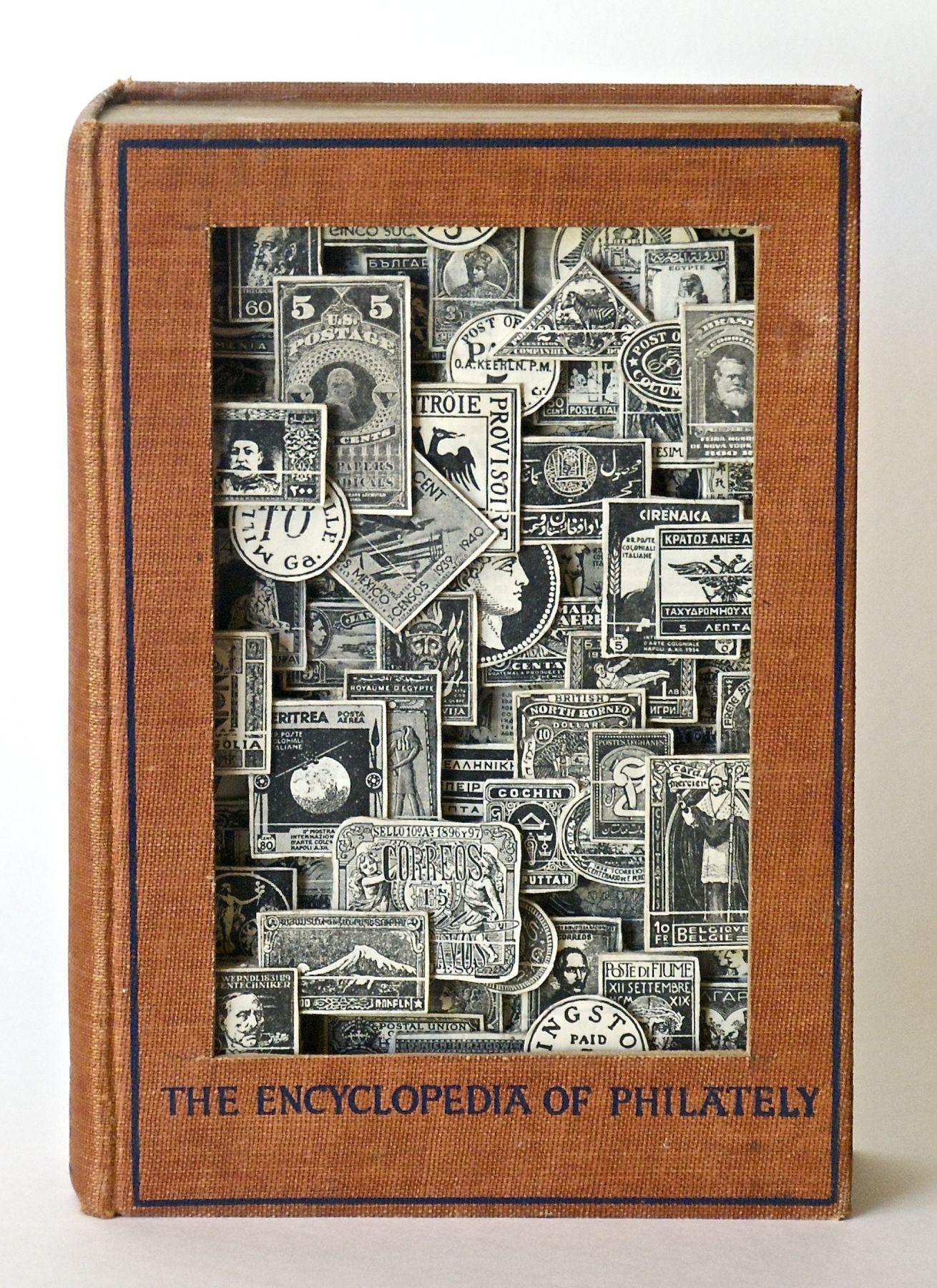 TONY DAGRADI, Encyclopedia of Philately,(front) 2018