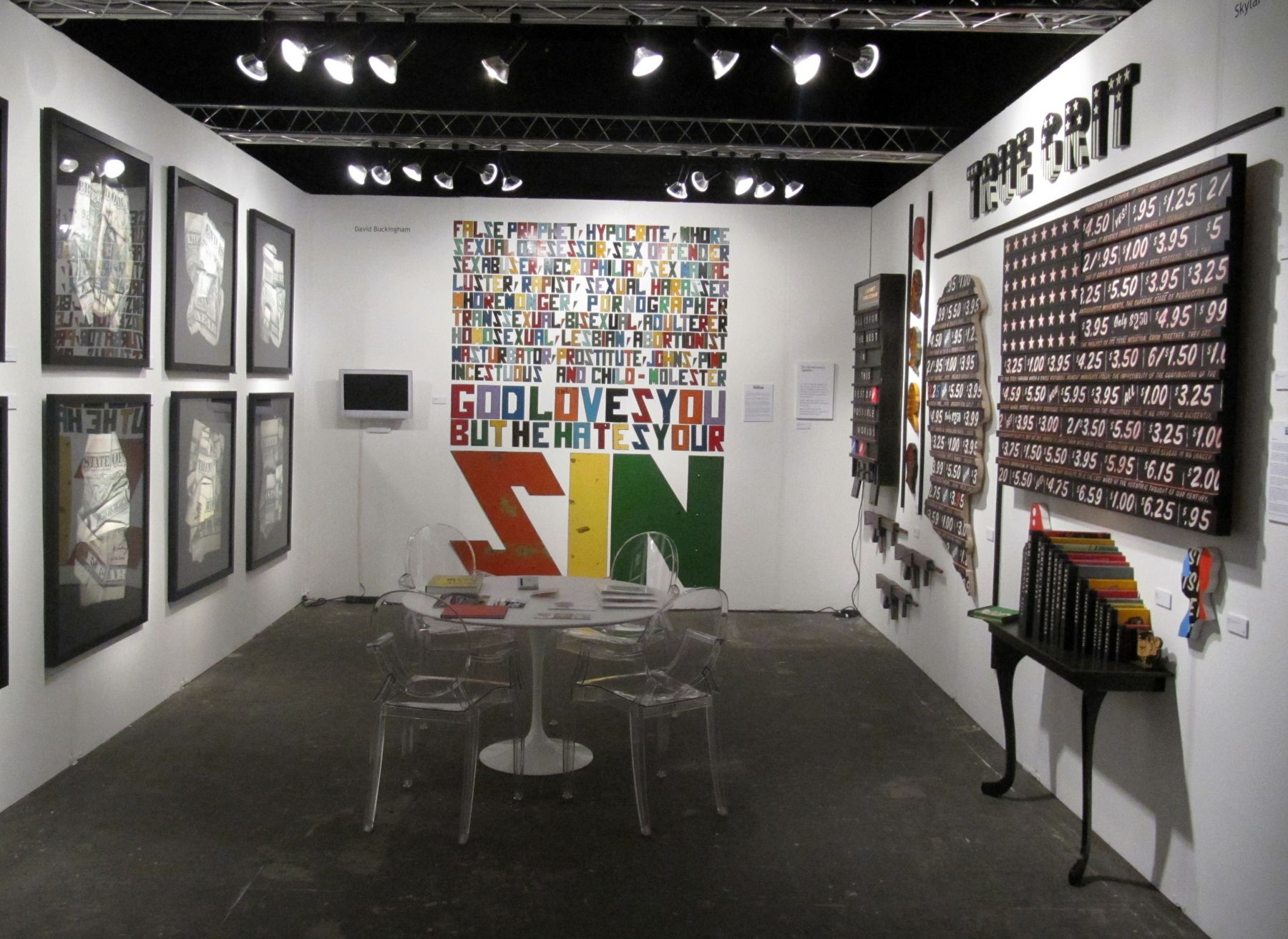 PULSE MIAMI 2010 III JONATHAN FERRARA GALLERY booth E-300, [Installation View]