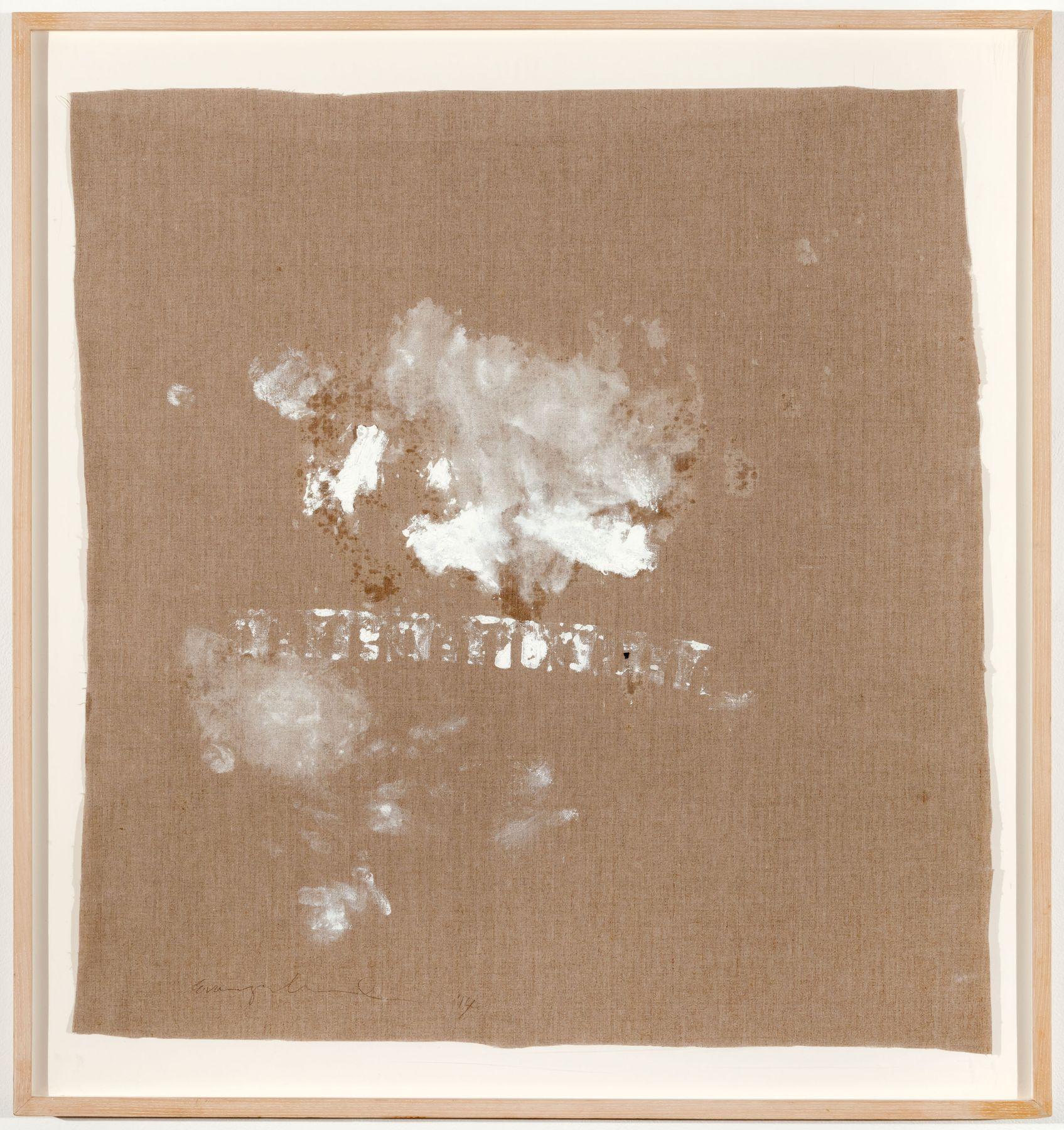 MARGARET EVANGELINE Disintegrating Relic, 2014