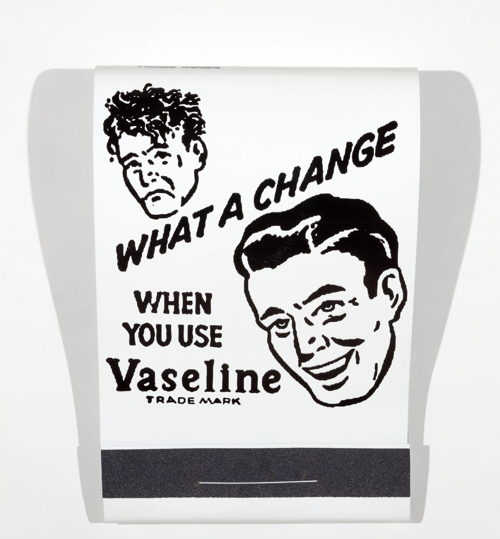 SKYLAR FEIN What a Change! Vaseline, 2016