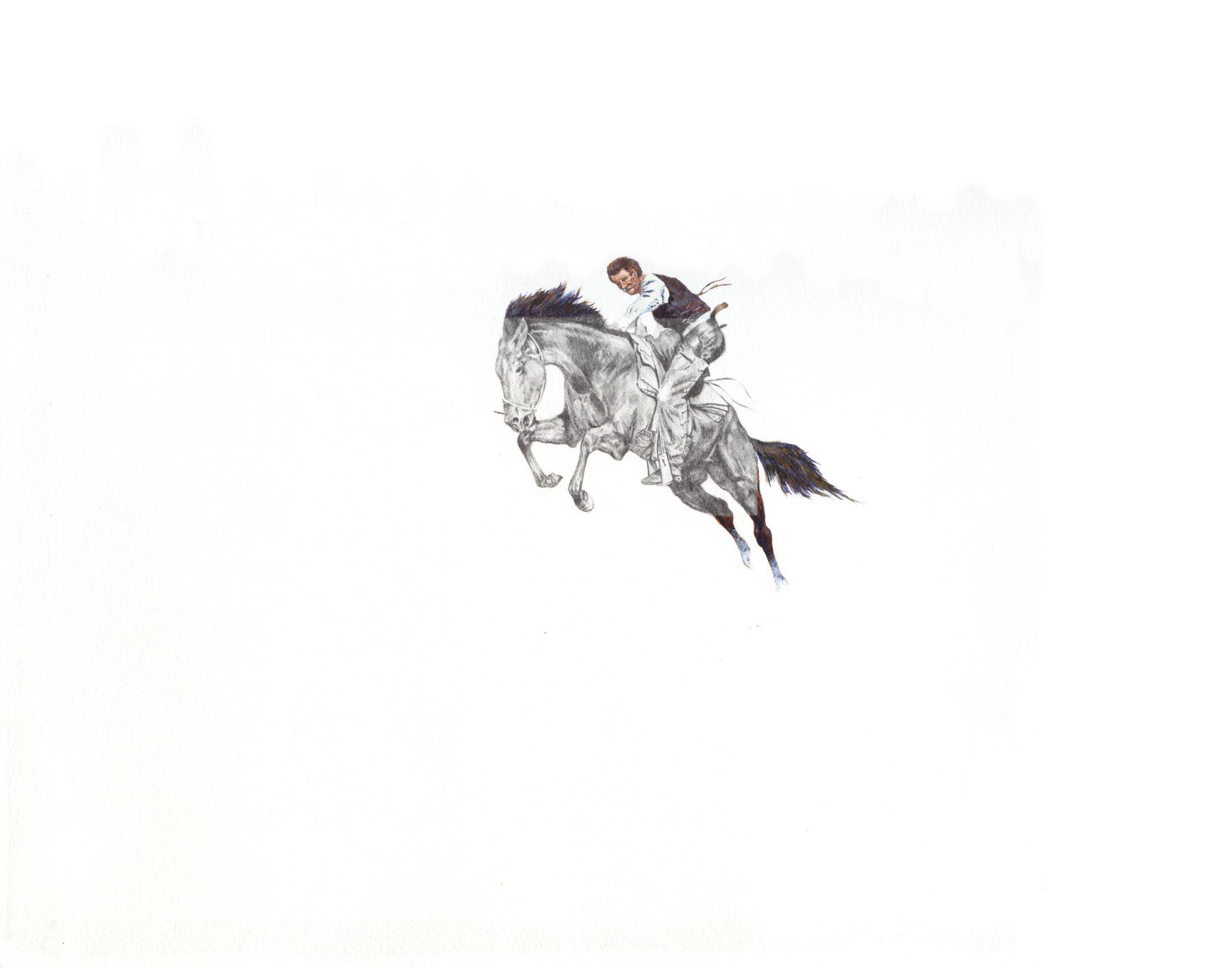 ADAM MYSOCK Black and White Westerns No. 1, 2009