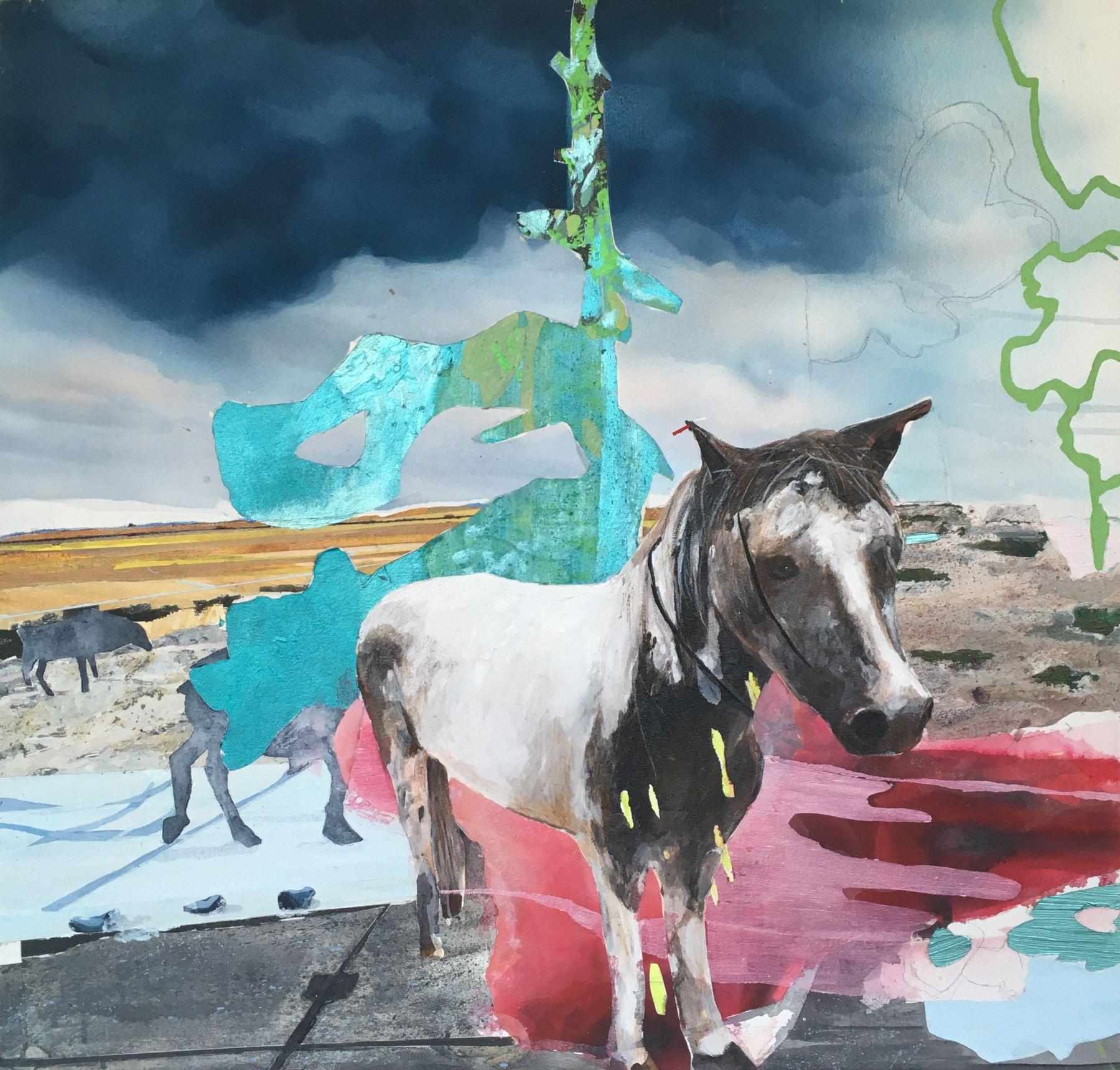 JENNY DAY, A Horse For Greta, 2019