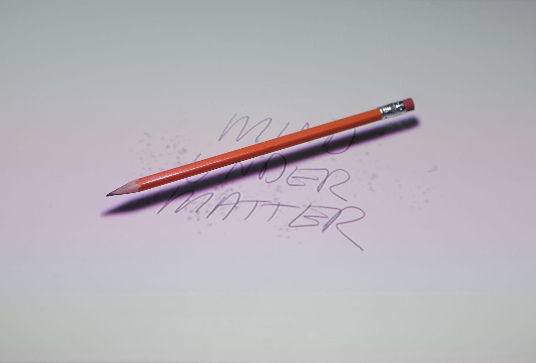 PETER SARKISIAN Floating Pencil (Matter Over Mind), 2011