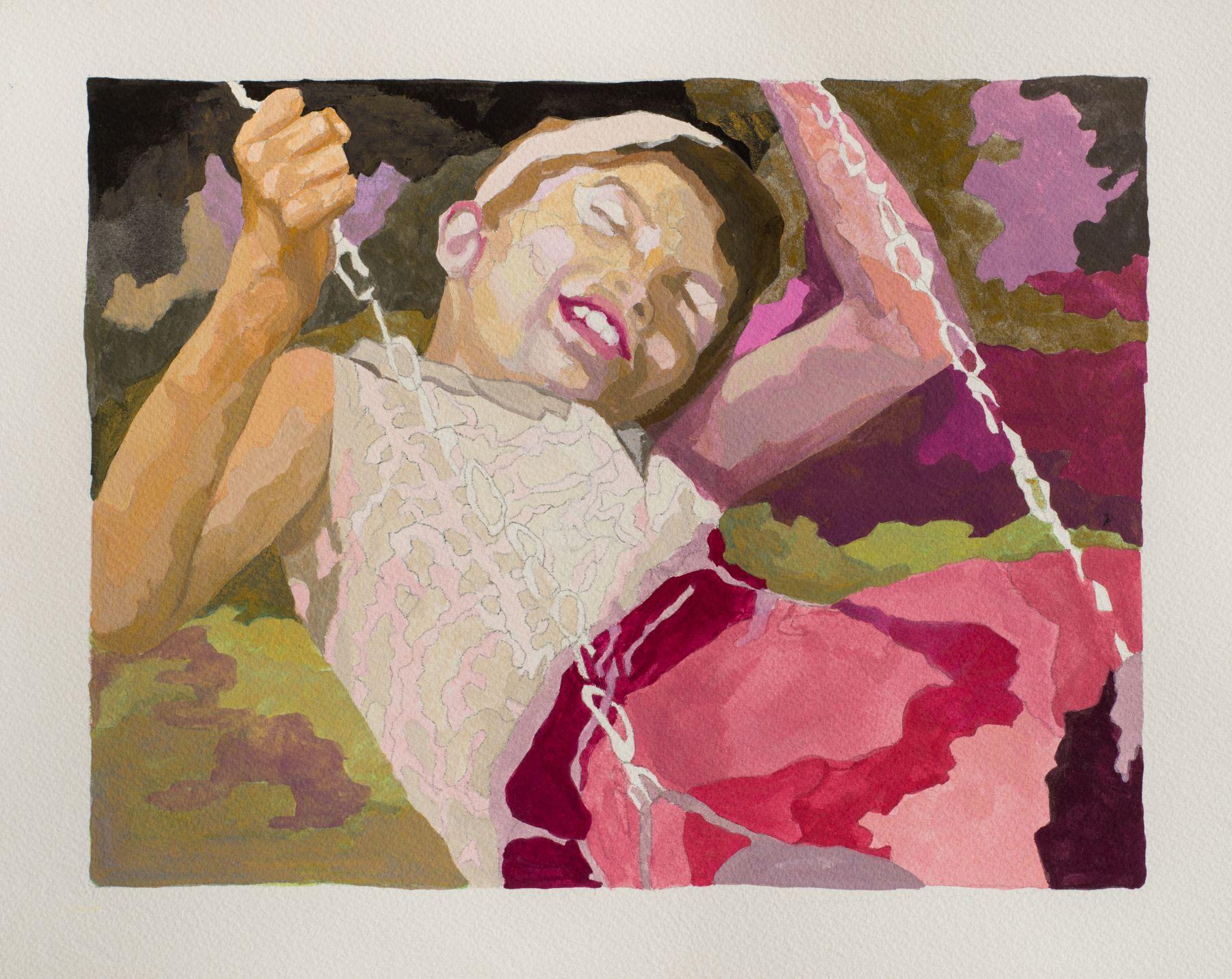 RUTH OWENS, Swingtime, study, 2018