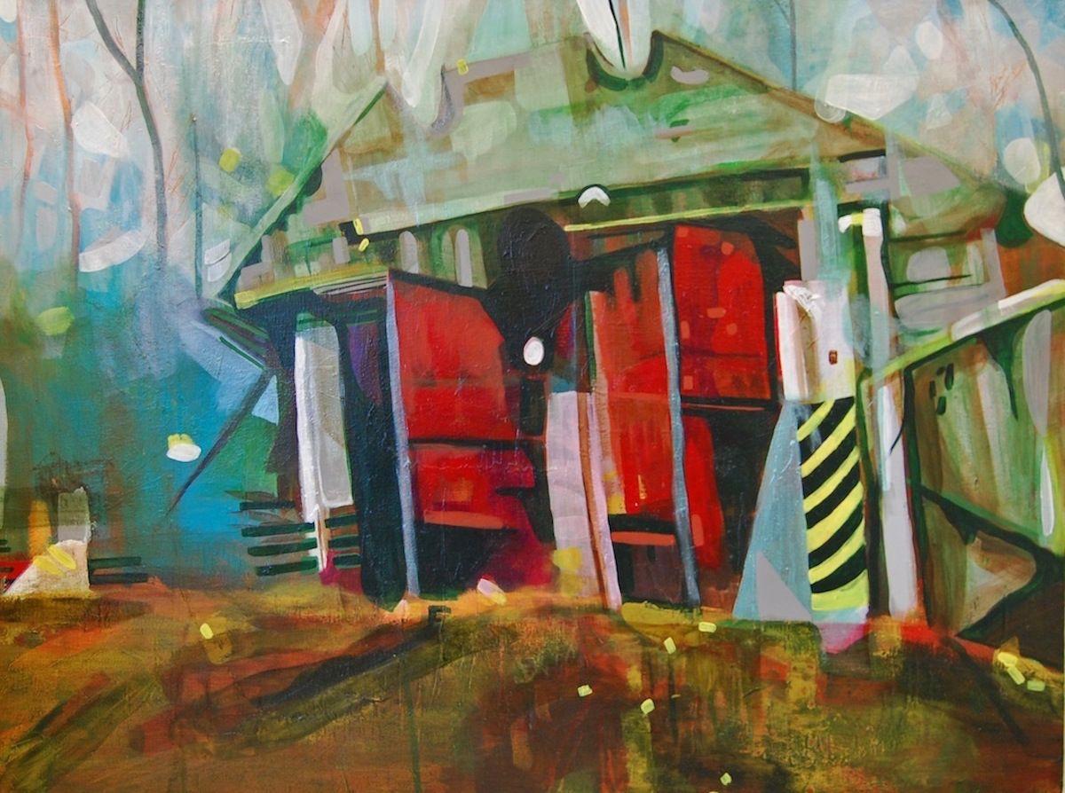 JENNY DAY Red Doors,2012