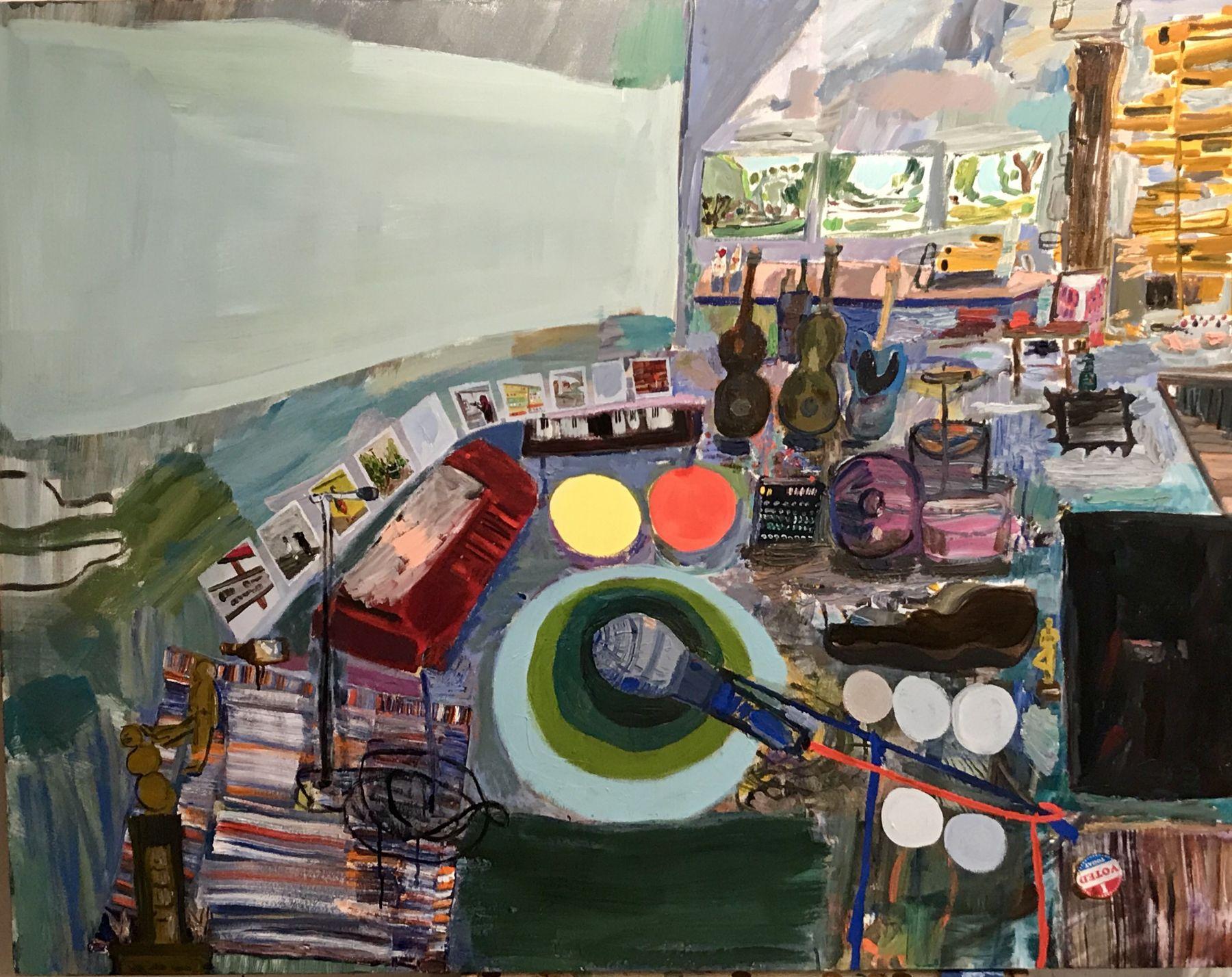 LISA SANDITZ, Tim's Studio, 2018