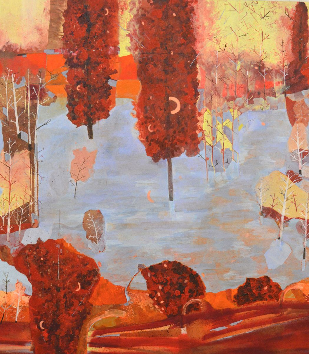 JENNY DAY Autumnal Loop,2014