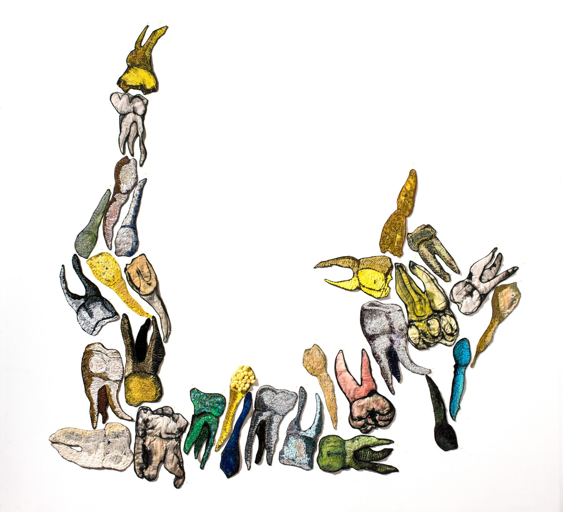 GINA PHILLIPS Reminiscent Teeth, 2012