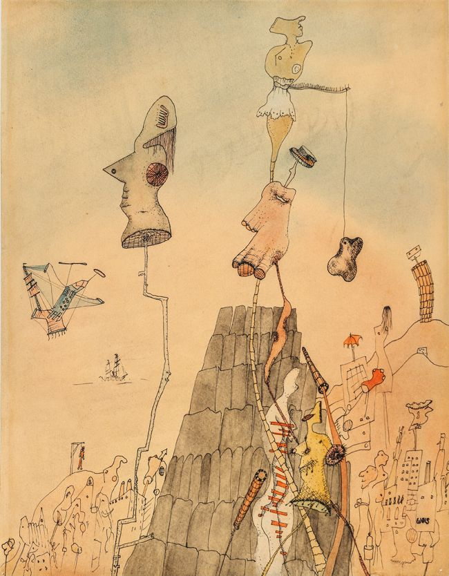Untitled, 1940 Watercolor and ink on paper