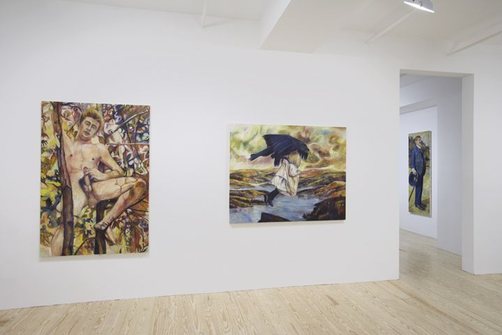 Keith Mayerson, Kings & Queens, installation view at Derek Eller Gallery, New York