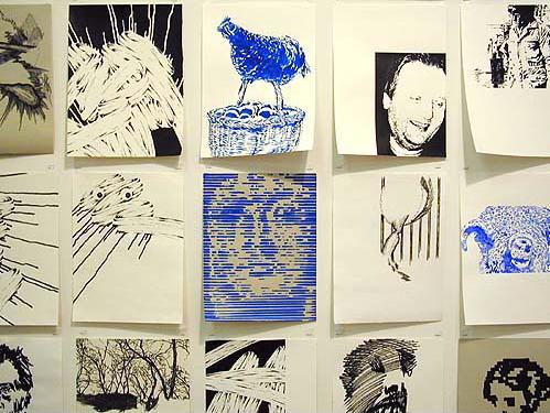 Christian Schwartzwald, Untitled, 2003 (detail)