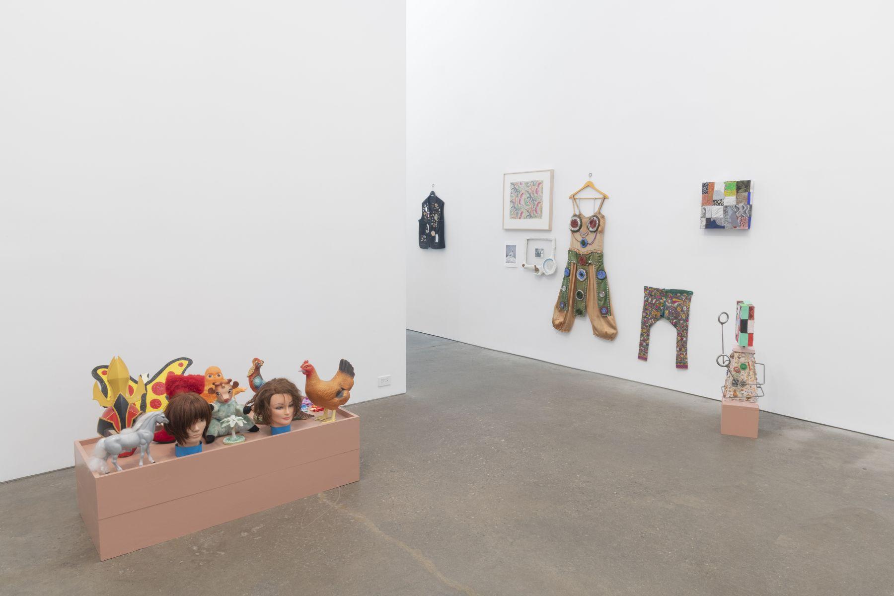 Nancy Shaver,A part of a part of a part, installation view at Derek Eller Gallery, New York
