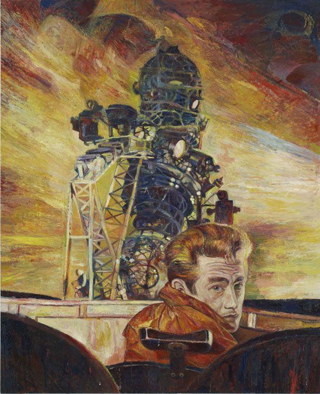 Rebel at the Observatory,2006, oil on linen
