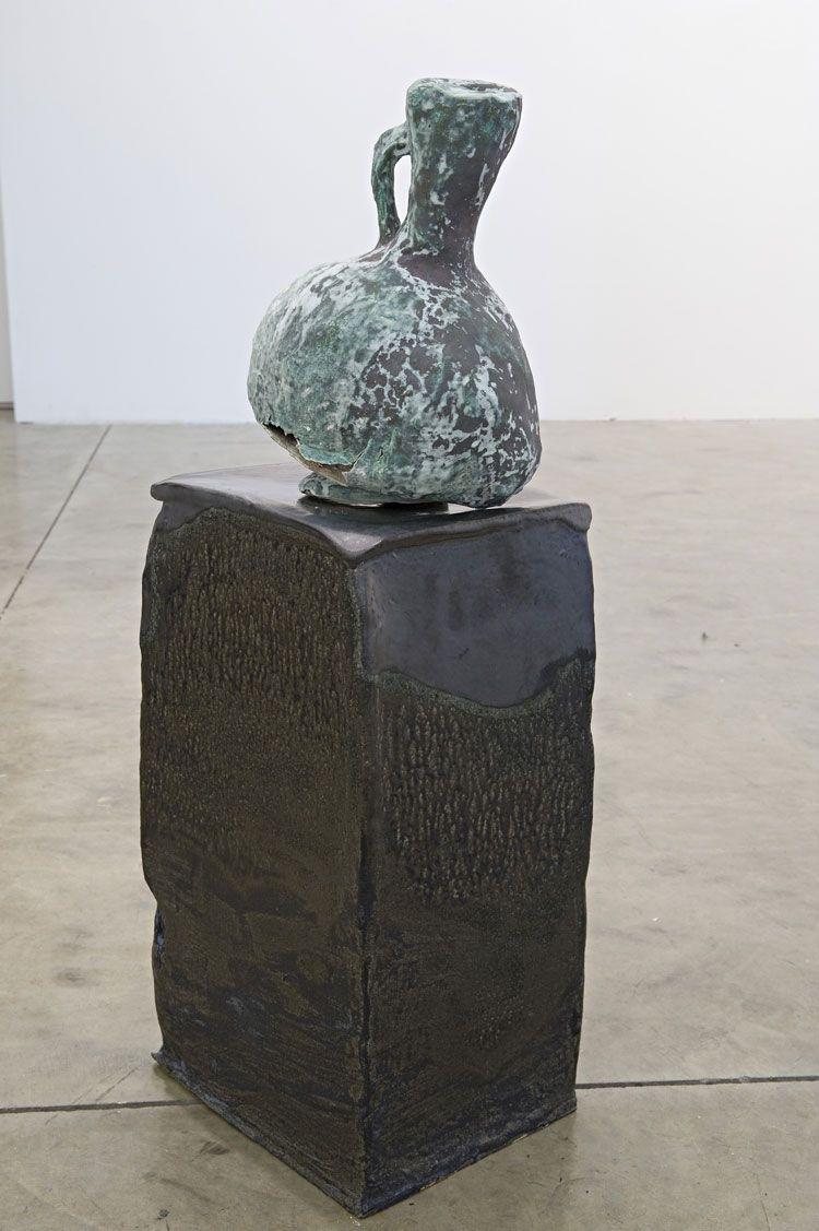 Iranian World 12th Century Ewer - Into the Present, 2007, ceramic