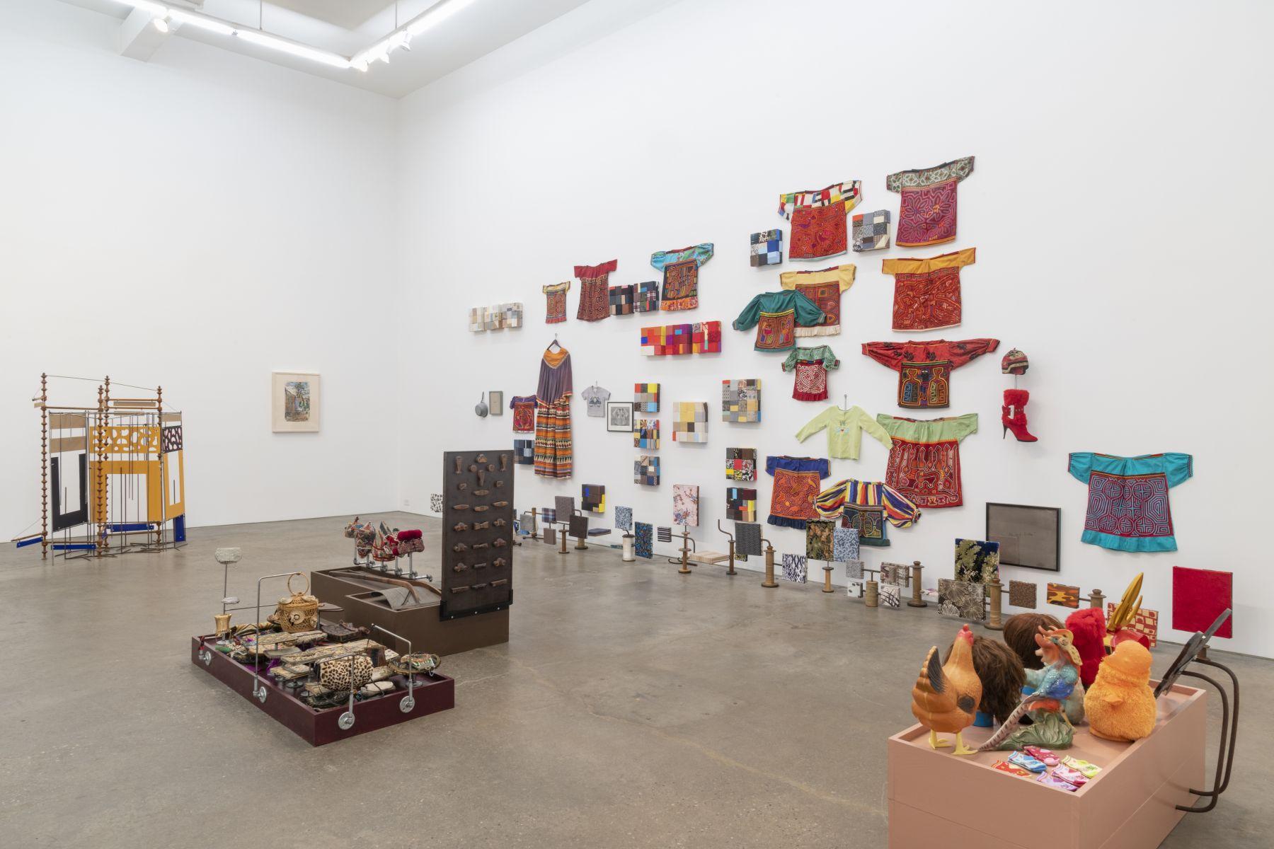 Nancy Shaver, A part of a part of a part, installation view at Derek Eller Gallery, New York
