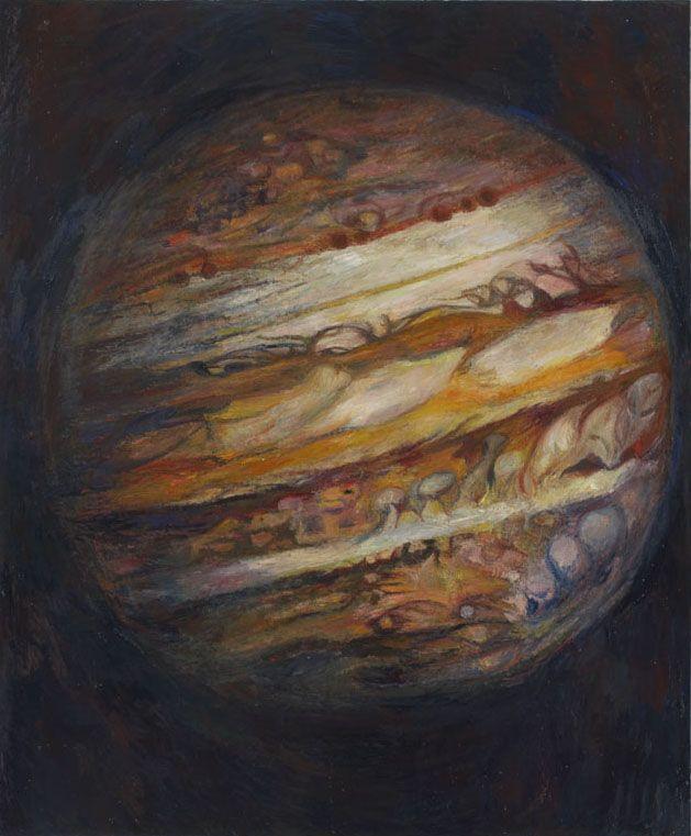 Jupiter, 2006, oil on linen