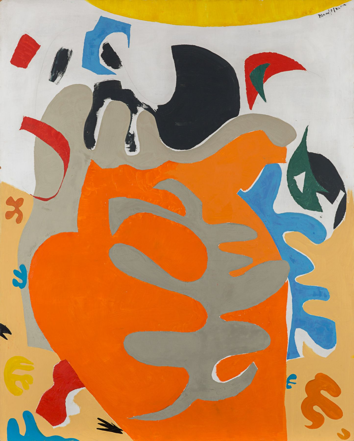 Beatrice Mandelman Sea Shapes (#1), 1960s