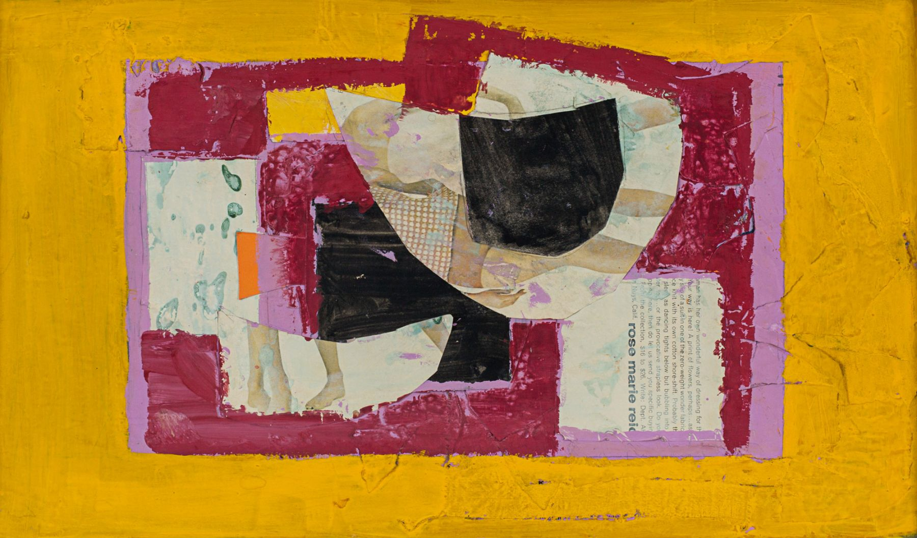 Beatrice Mandelman Black Shape, c. 1960s