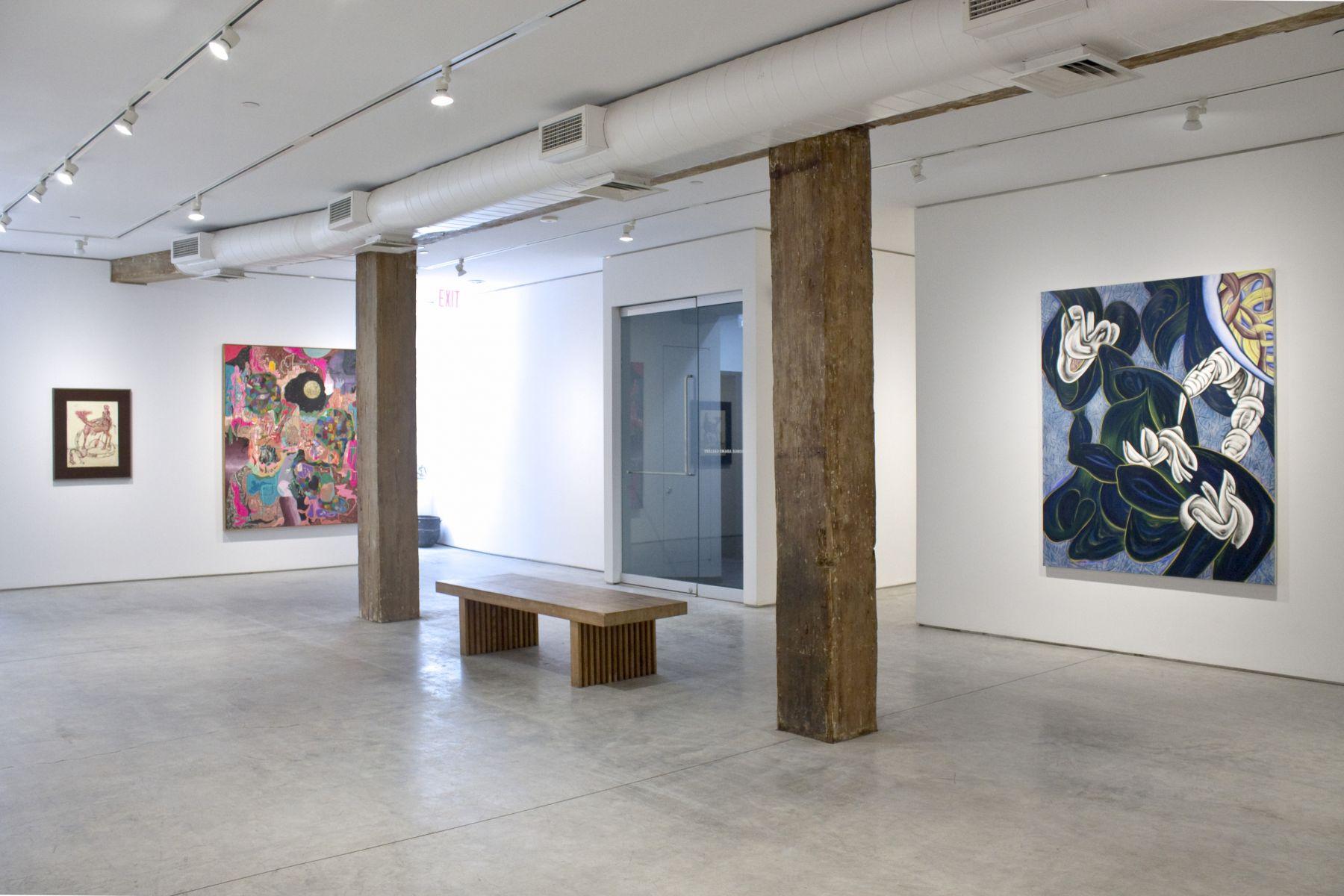 Installation View, Body/Object, George Adams Gallery, New York, 2019.