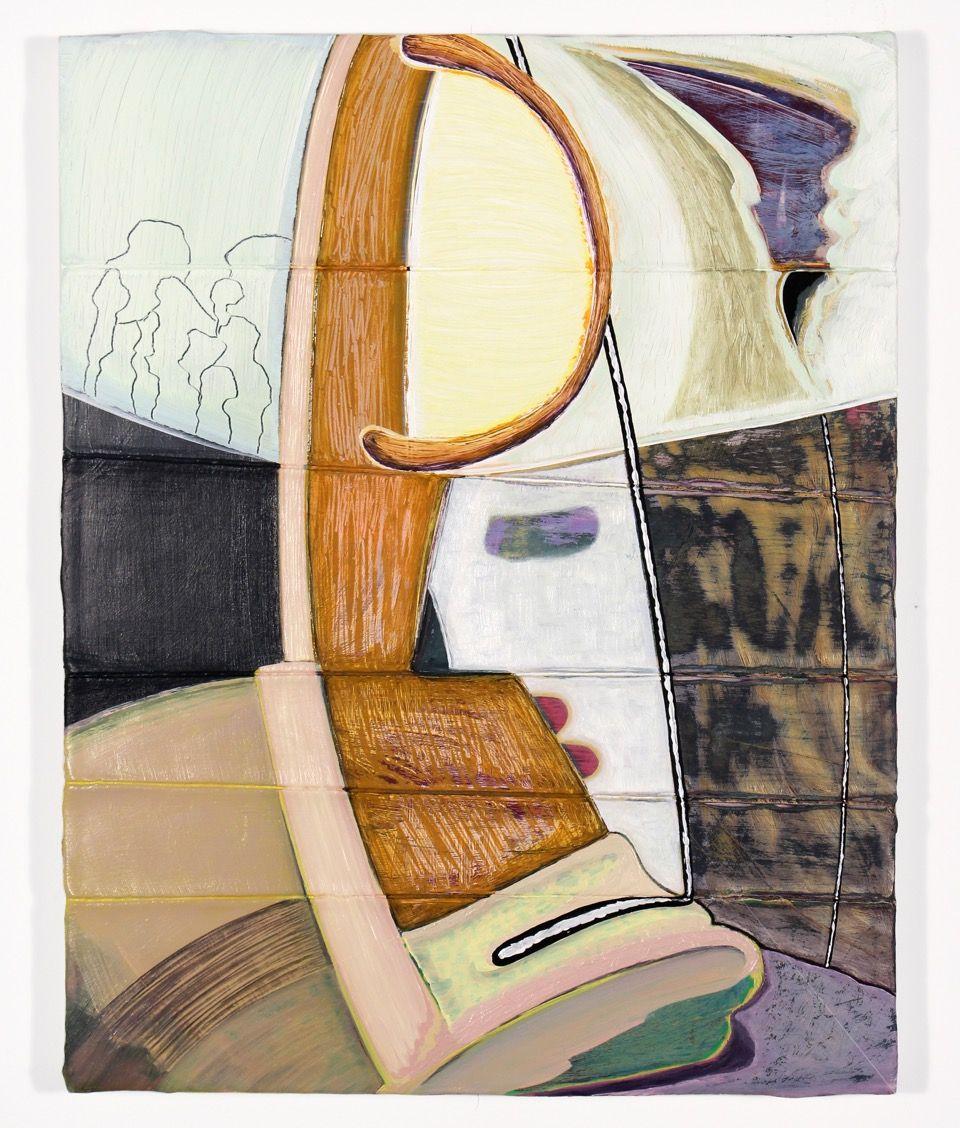 Magalie Guerin, Untitled (bondage-miner) 2015
