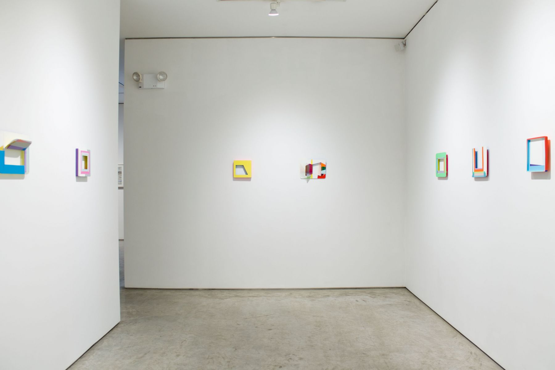 Installation view, Xuan Chen, George Adams Gallery, New York, 2017.