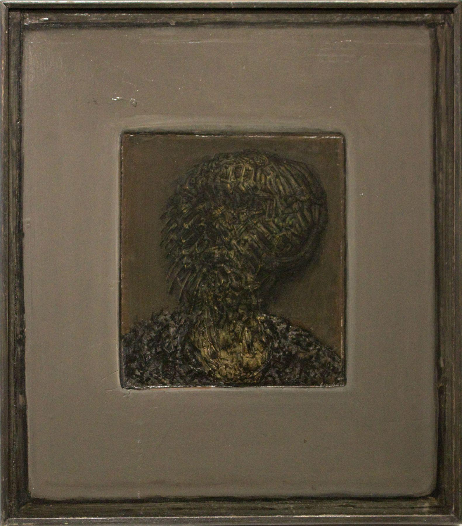 Gregory Gillespie, Peg's Grandmother (Dark) 1996
