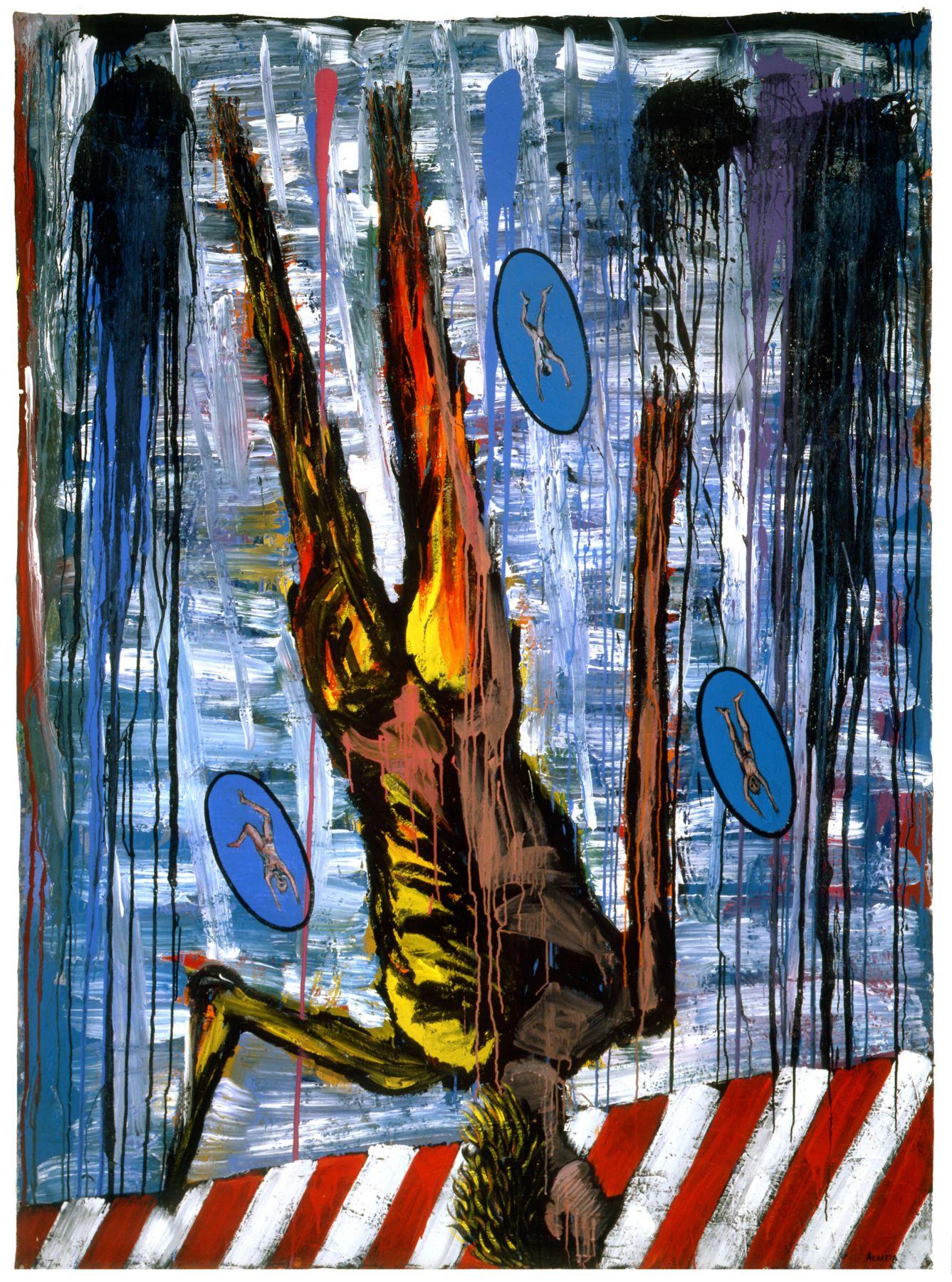 AIDS: Suicidal Leap  1987