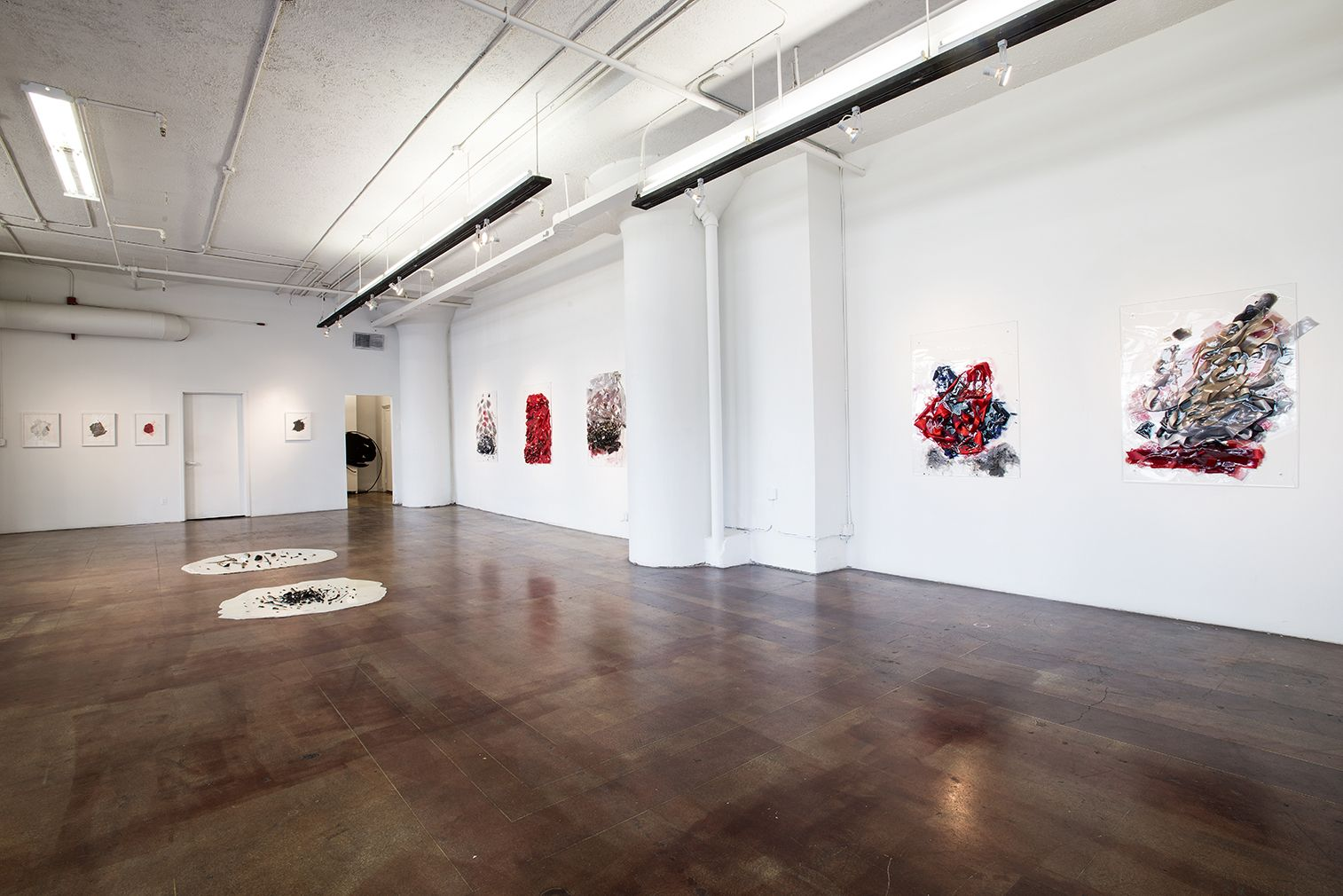 Installation View, Vadis Turner, Bells andBurn Piles, Geary Contemporary, 2016