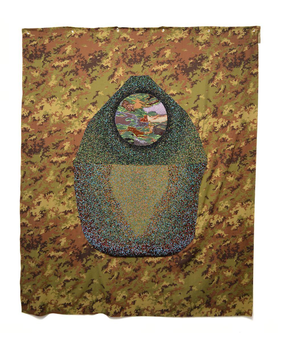Pattern for a Yurt V, Rachel Frank