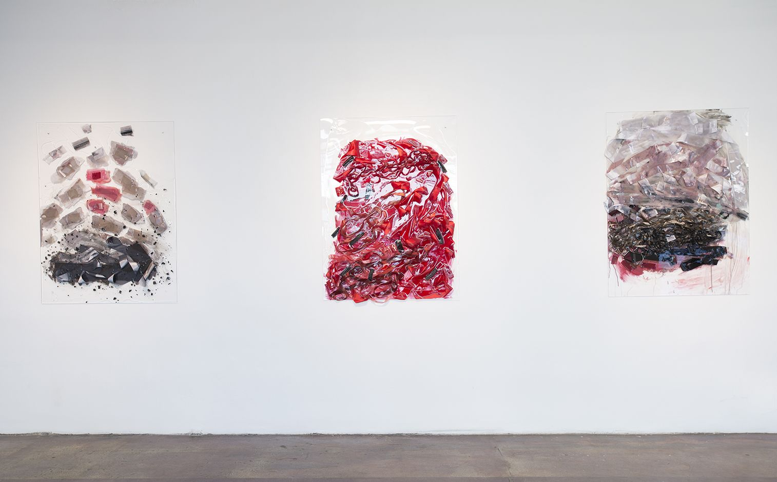 Installation View, Vadis Turner,Bells andBurn Piles, Geary Contemporary, 2016