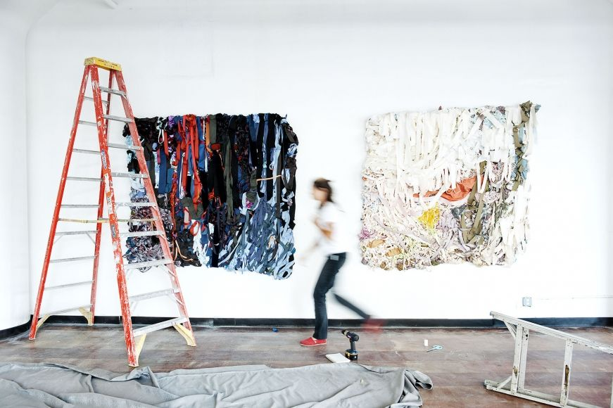 Installation view, Vadis Turner, Past Perfection, Geary Contemporary, 2014