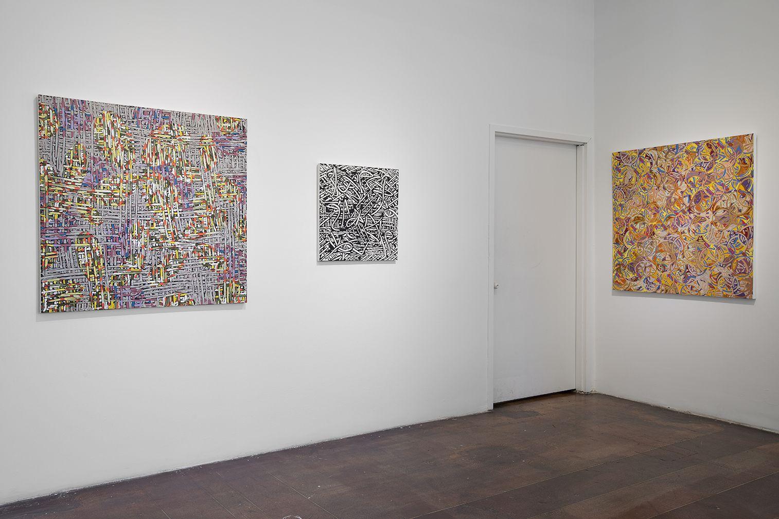 Installation View, Alexander Herzog, Listening Behind the Vocals, Geary Contemporary, 2016