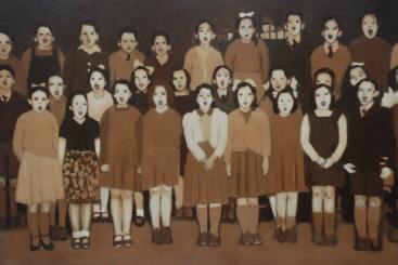 Chorus Oil on canvas