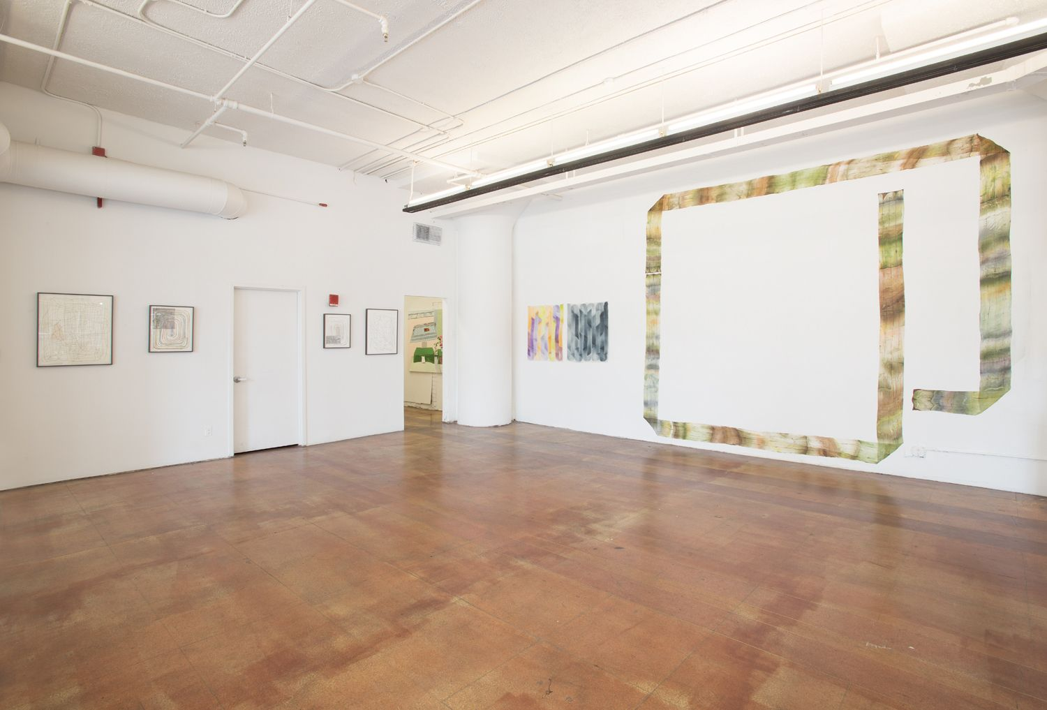 Installation View, Andy Hall,Stack Up, Geary Contemporary, New York, 2016