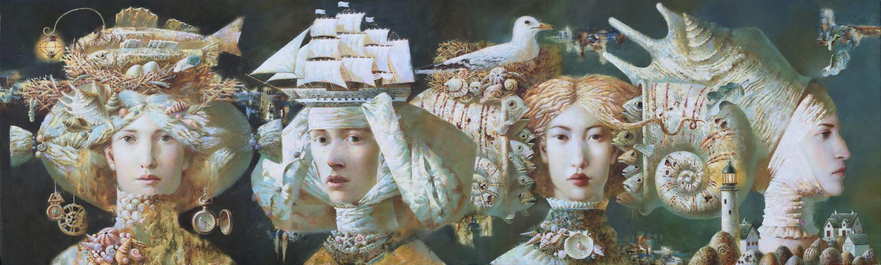 Anna Berezovskaya_Ladies of the Sea