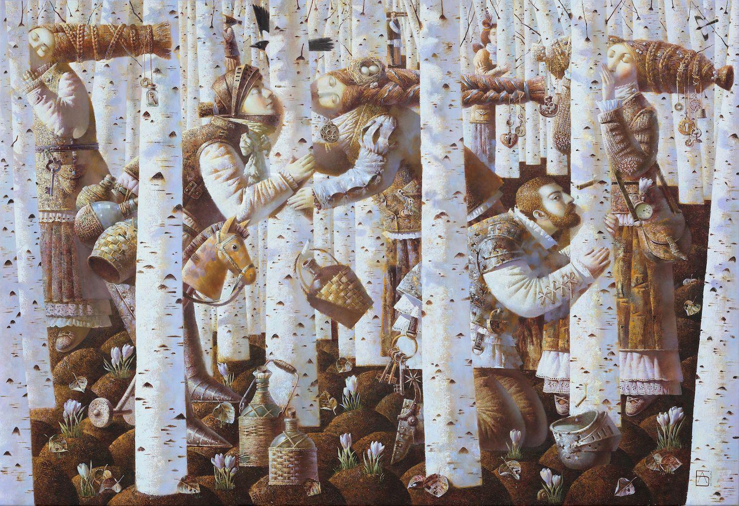 Anna Berezovskaya_Kissing the Birch