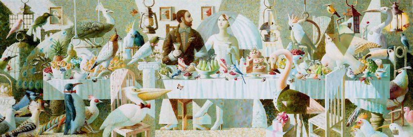 Anna Berezovskaya_Wedding of the Ornithologist