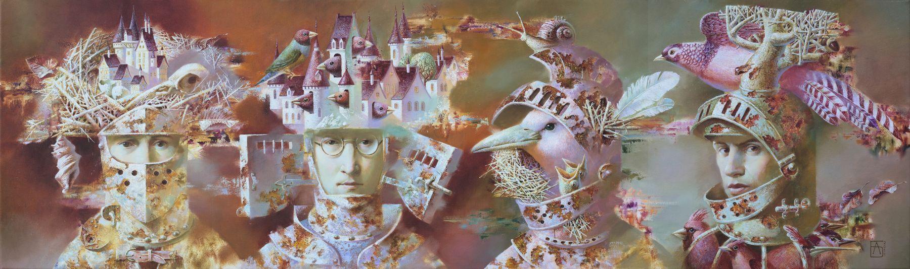 Anna Berezovskaya_Four Knights