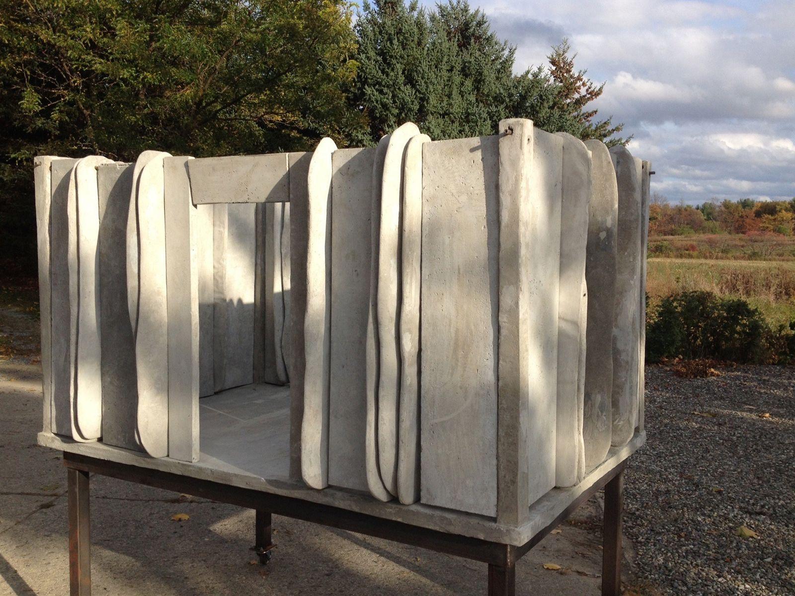 Mia Westerlund RoosenArchitectural Folly 8, 2015Concrete and Steel60 x 60 x 30 inches