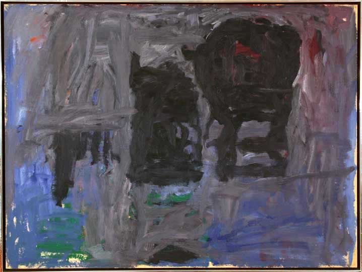 Oil painting by Philip Guston