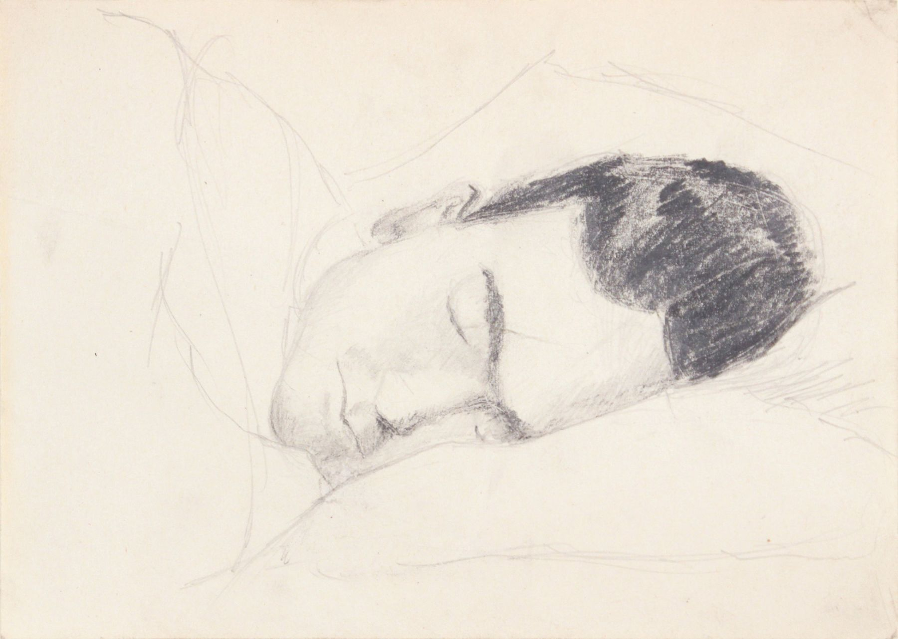 Philip Pearlstein Fellow G.I. Sleeping, 1943