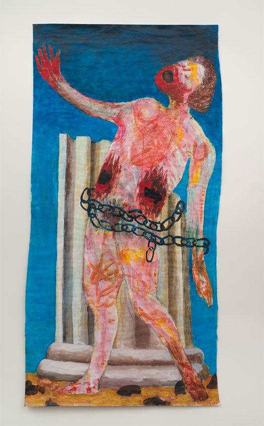 Prometheus, 2011, Acrylic on paper